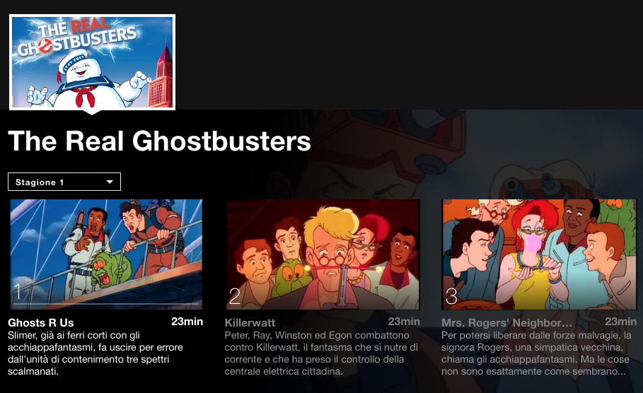 The real ghostbusters il cartone animato cult degli anni