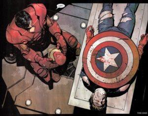Captain America Morte Avengers 4