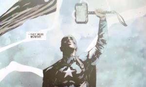 Captain AmericaMjolnir Avengers 4