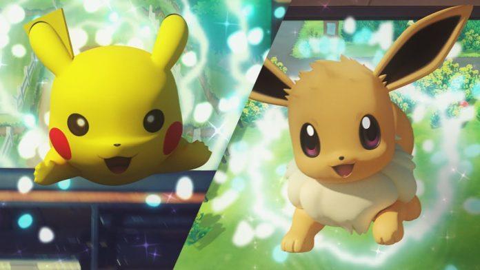 Pikachu e Eevee