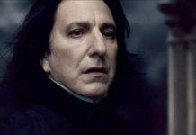 Severus Piton Alan Rickman Harry Potter
