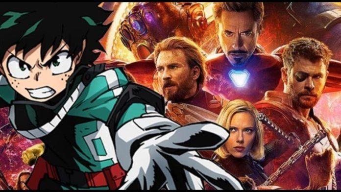 Kohei Horikoshi My Hero Academia Marvel