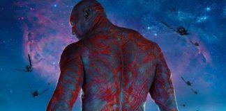 Drax Guardiani della Galassia Avnegers: Infinity War Thanos