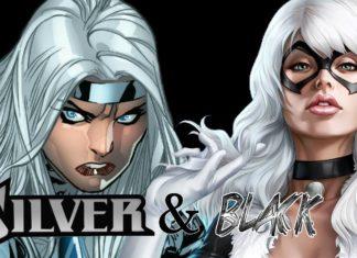 Silver & Black Silver Sable e Black Cat