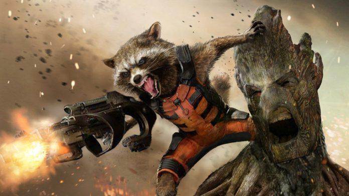 Groot e Rocket Raccoon