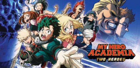 My Hero Academia Two Heroes